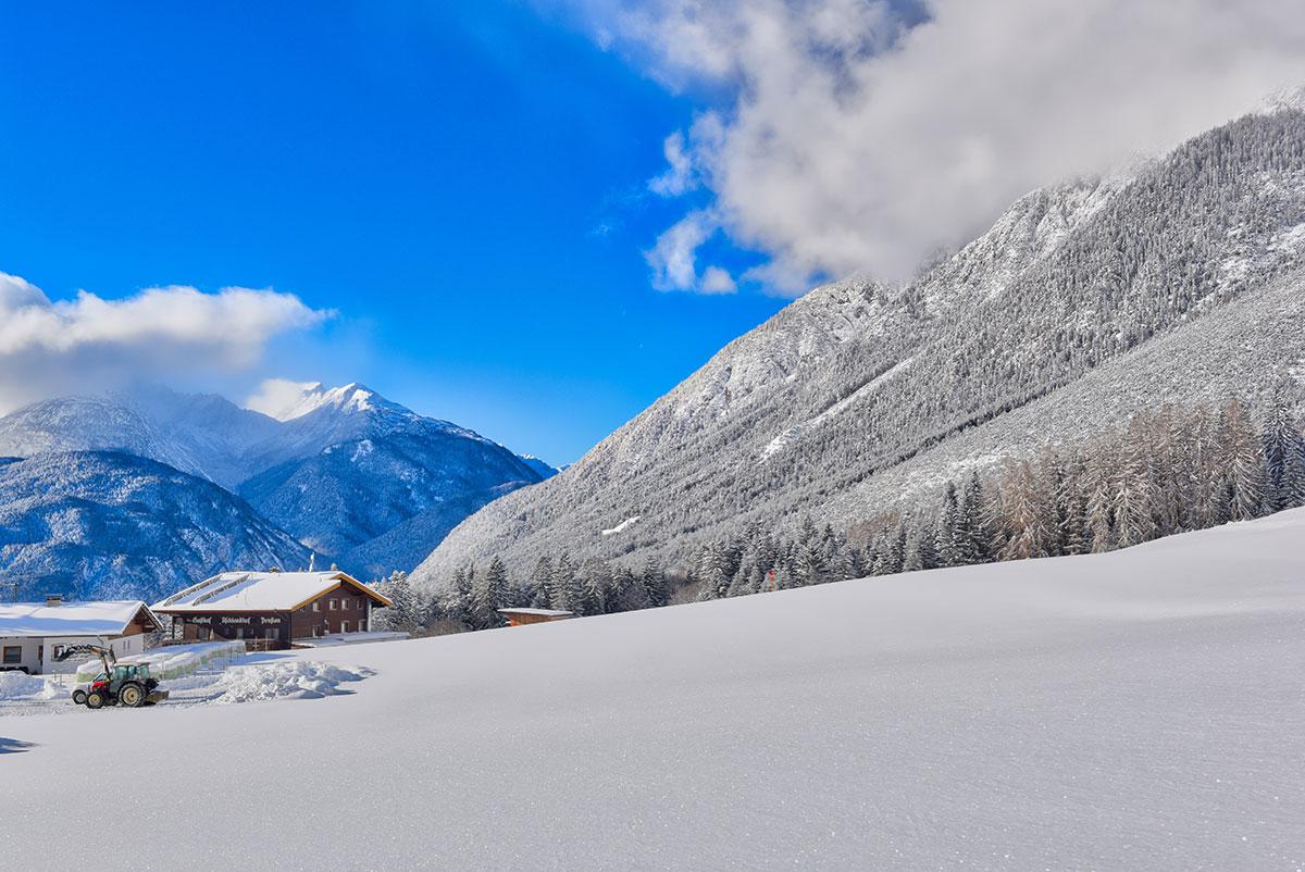 Winterurlaub in Tirol in Pension Aschlandhof