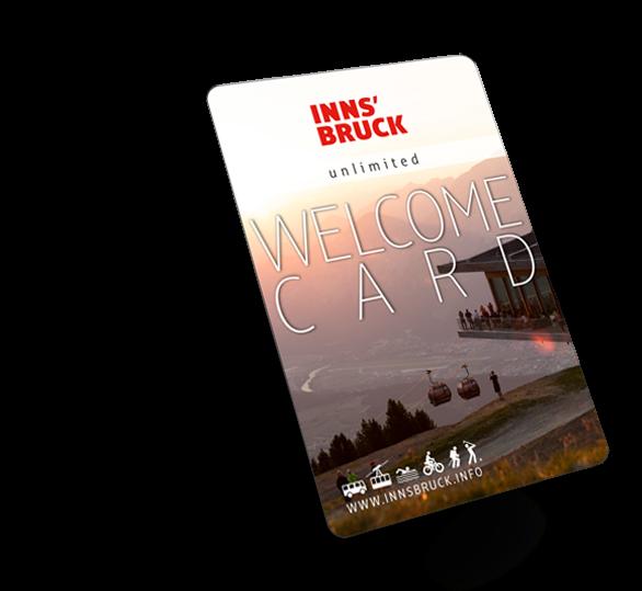 welcome card Innsbruck