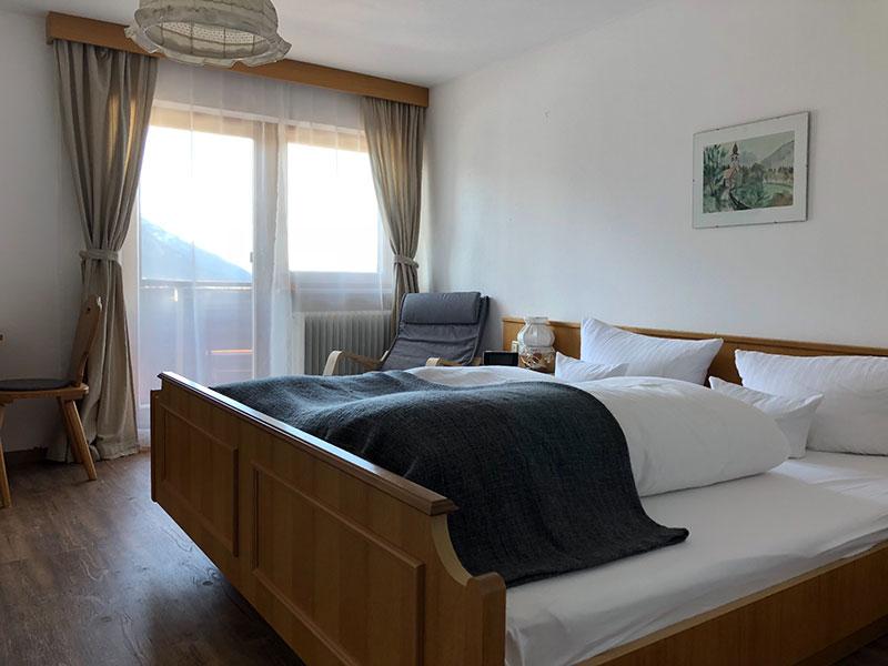 Komfort Doppelzimmer Pension Aschlandhof