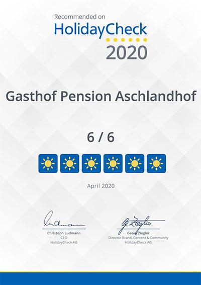 Holidaycheck Pension Aschlandhof